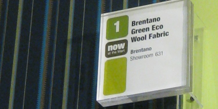 Brentano Fabric in 2009 Green Spot