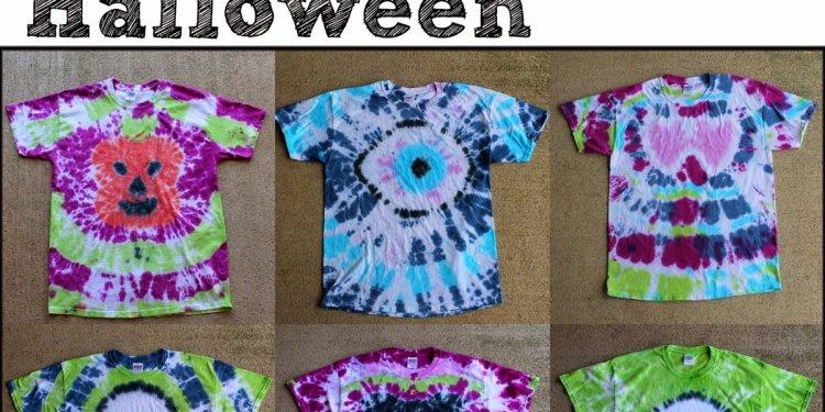 Doodlecraft: Halloween Tie Dye
