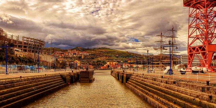 Dry Dock View