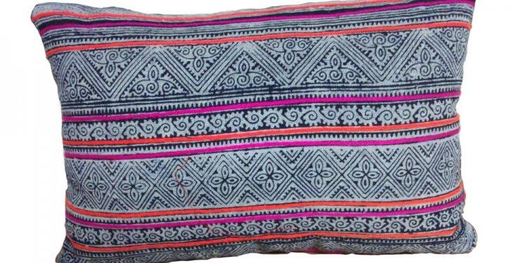Hmong Batik Pillow — Lodestone
