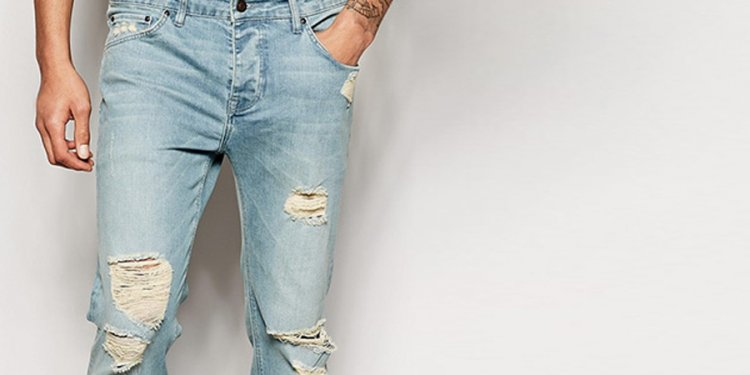 Mens-ripped-jeans-fade-vintage