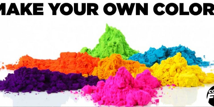 How To Make Your Own Color
