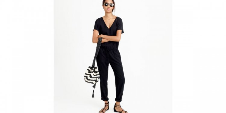 Jumpsuit In Tencel-linen