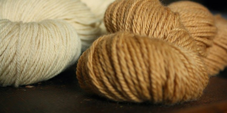 Naturally dyed yarn ::