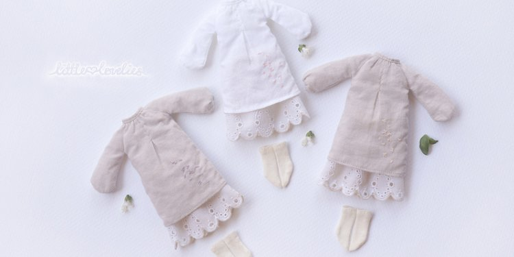 Middie Blythe Daily Mori Girl Embroidery Sets