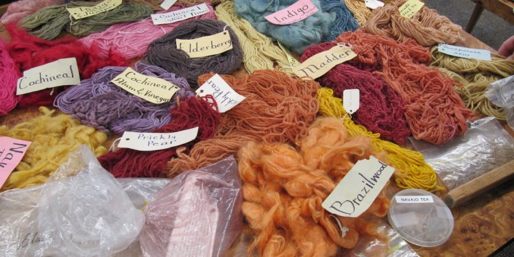 Natural dyes Gallery