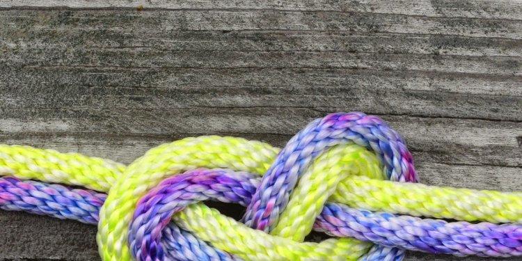 So, I make stuff: dyeing rope