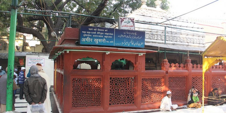 The Holy Shrine of Poet Amir Khusro
