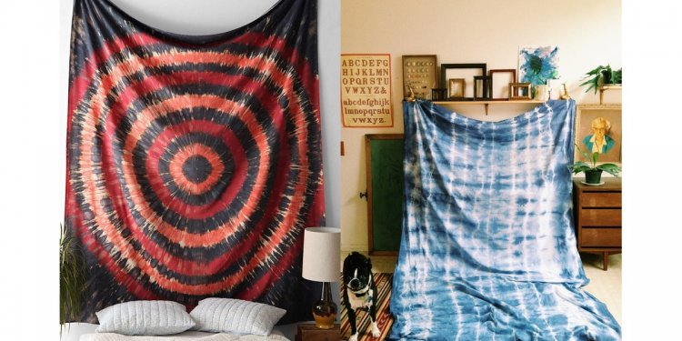 Tie-Dyed Tapestry | How to DIY