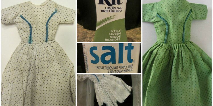 How to set Rit dye in cotton?