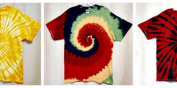 How to dye shirts one color?