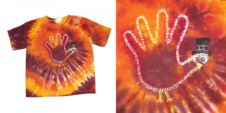 How to make Maroon Tie dye?