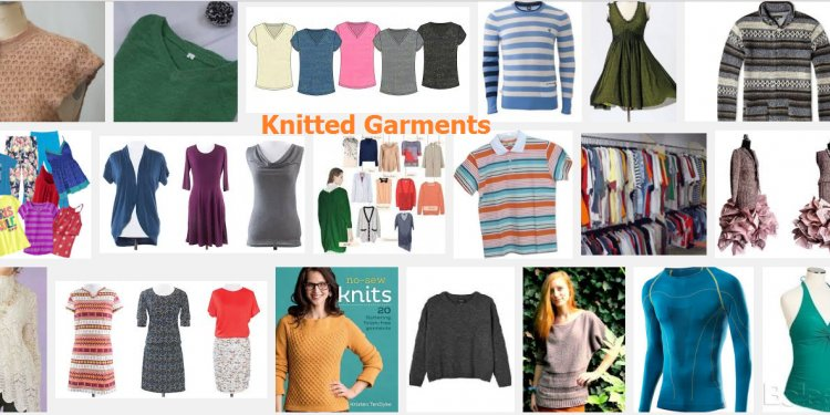 Difference between garment and Textile