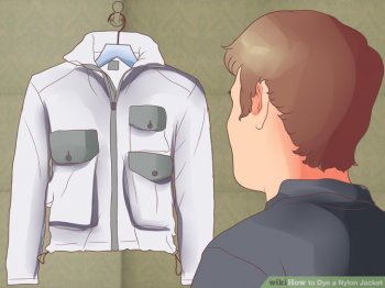 Image titled Dye a Nylon Jacket action 1