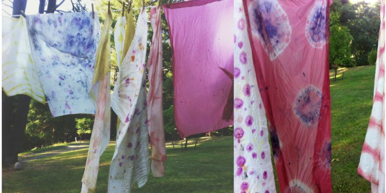 Natural dyes for clothes